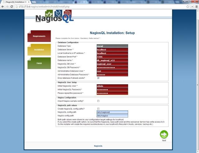 Nagiosql 3